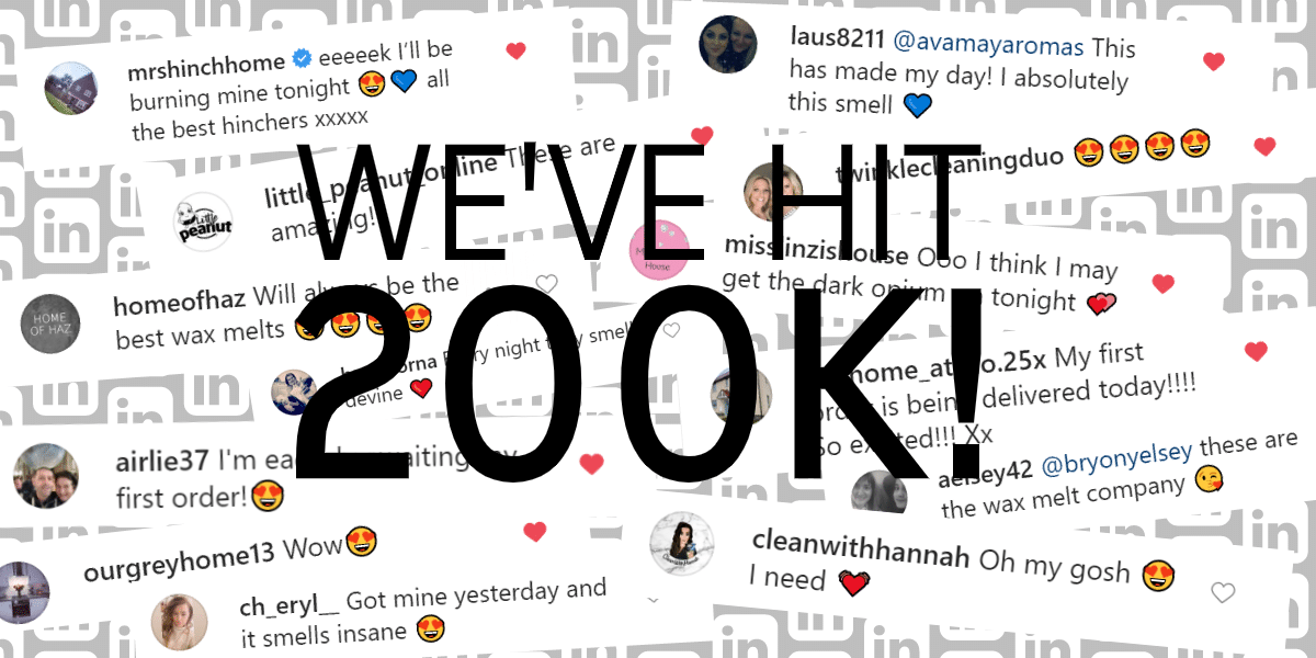 We've 200k Followers on Instagram